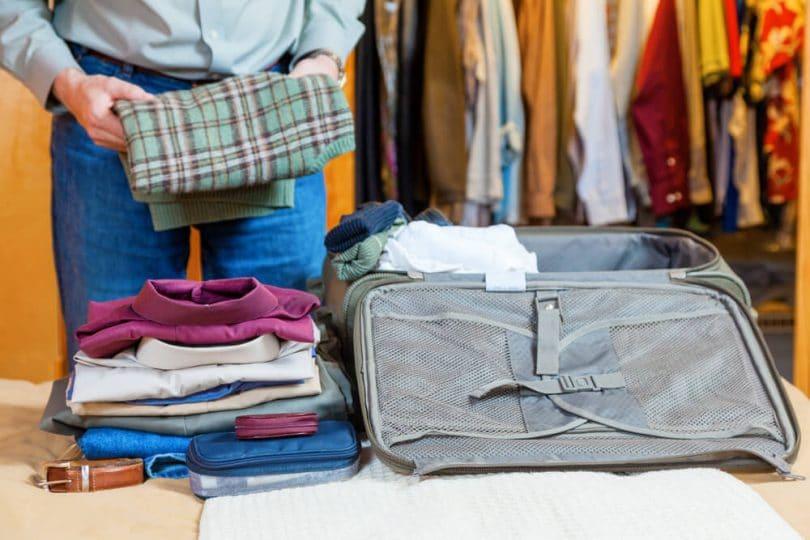 como fazer a mala para a viagem em 4 passos