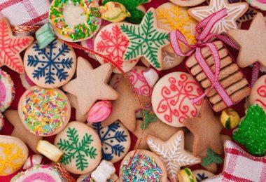 Fluss House - Biscoitos natalinos