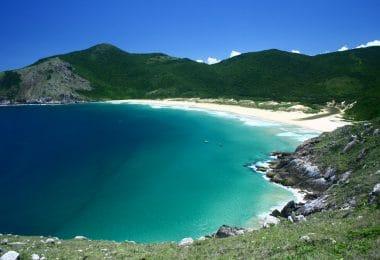 Praias no sul da Ilha de Florianópolis
